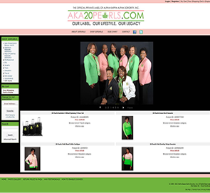 AKA Visual Solutions Pinnacle Cart Web Design